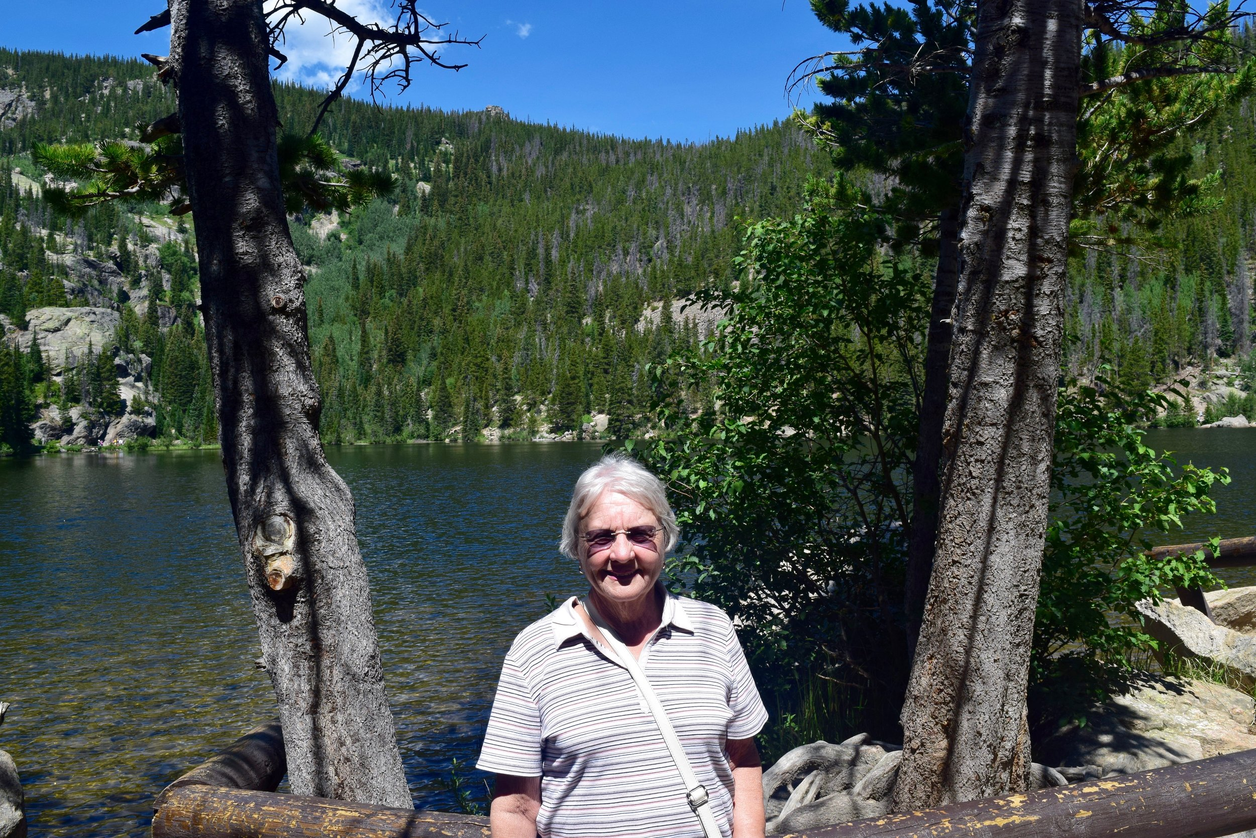 Grandmommie at Bear Lake!