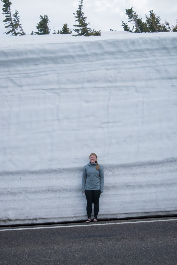 Rockin' the Tevas with a 15 foot snowdrift! I seriously take these guys everywhere.
