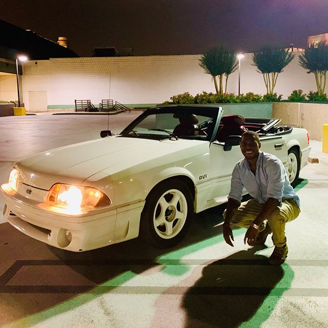"'88 Stang, Dream car accomplished 🤤 ""Flowers"" music video coming soon for the Lo-Fi listeners and updates to the CoCalm app soon #CoCalm"