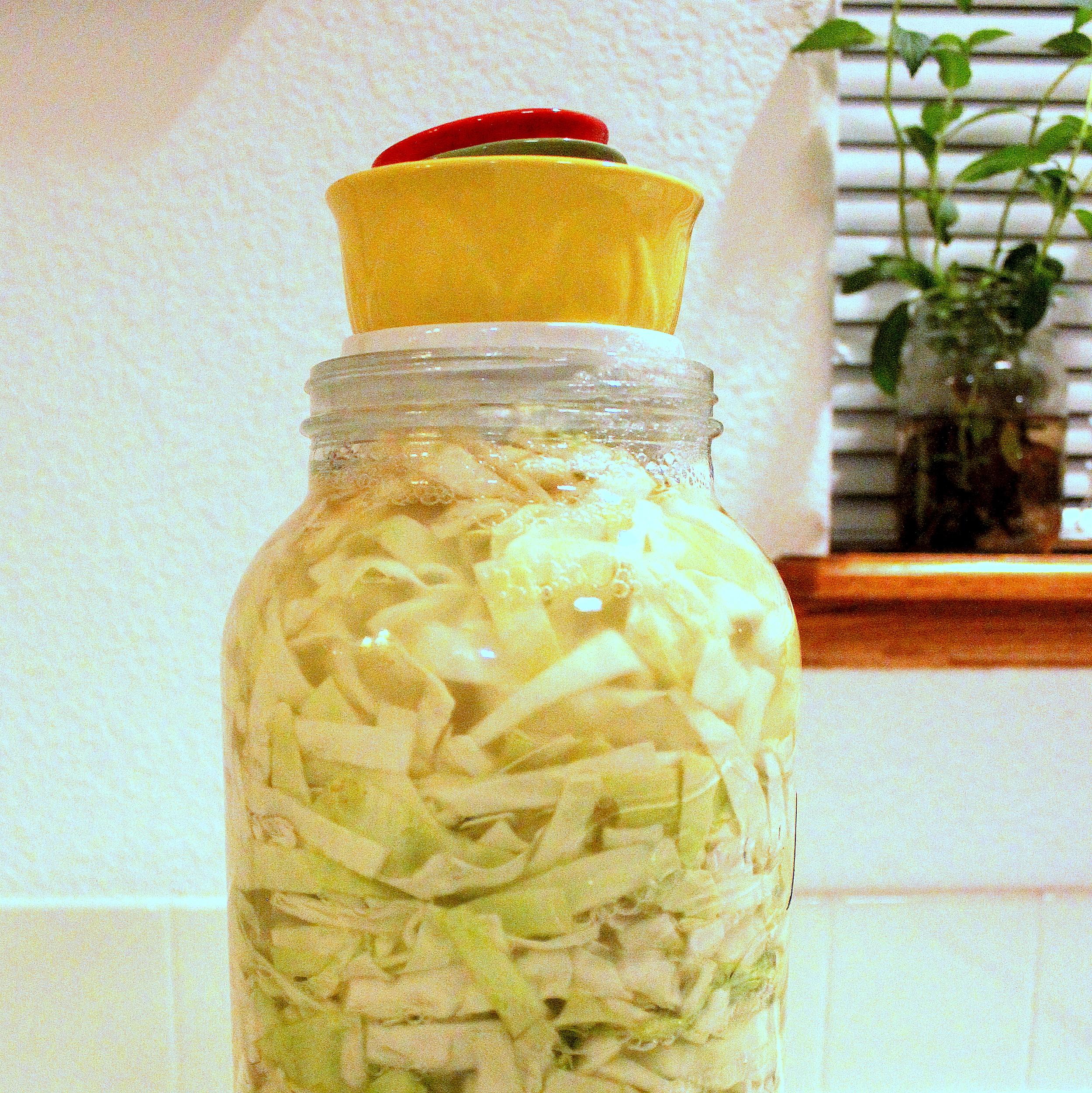 Homemade Sauerkraut from Peas and Hoppiness - www.peasandhoppiness.com