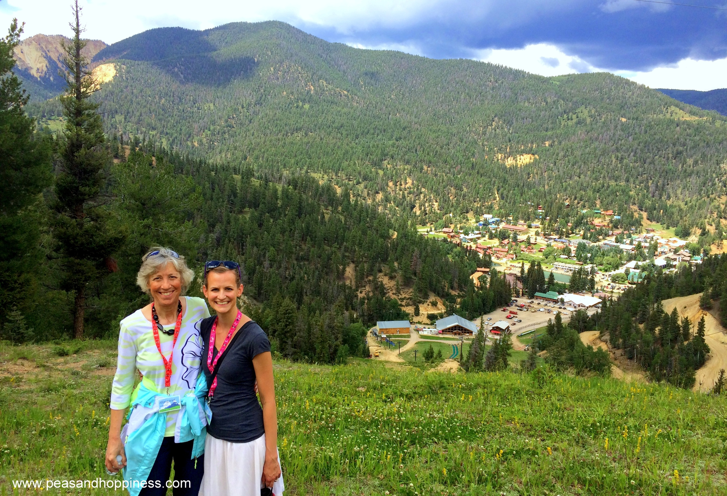 I love being active on family vacations! Mom and me climbing at the Scheufler Family Reunion in New Mexico.