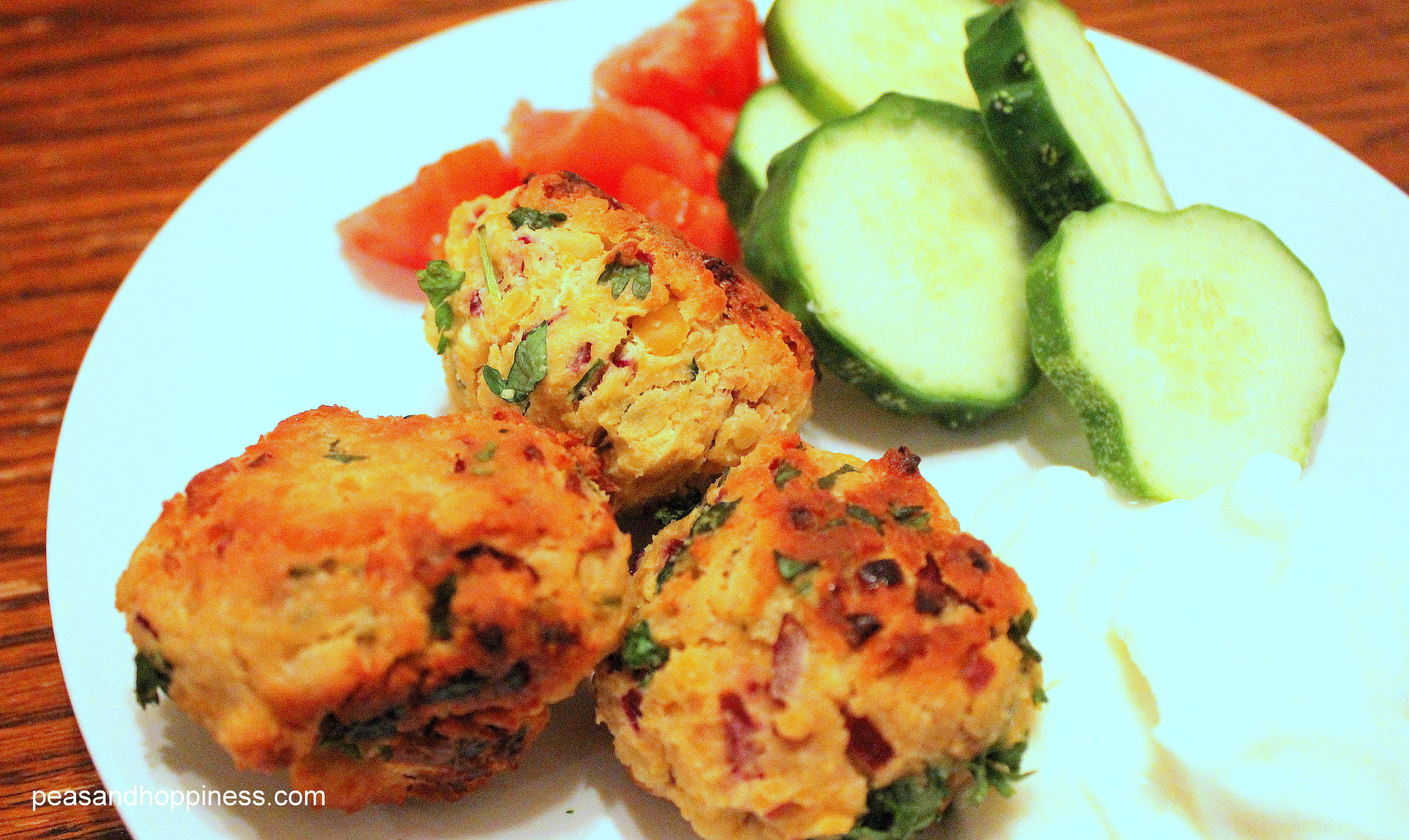 Falafel  - a great (and delicious) source of vegetarian protein