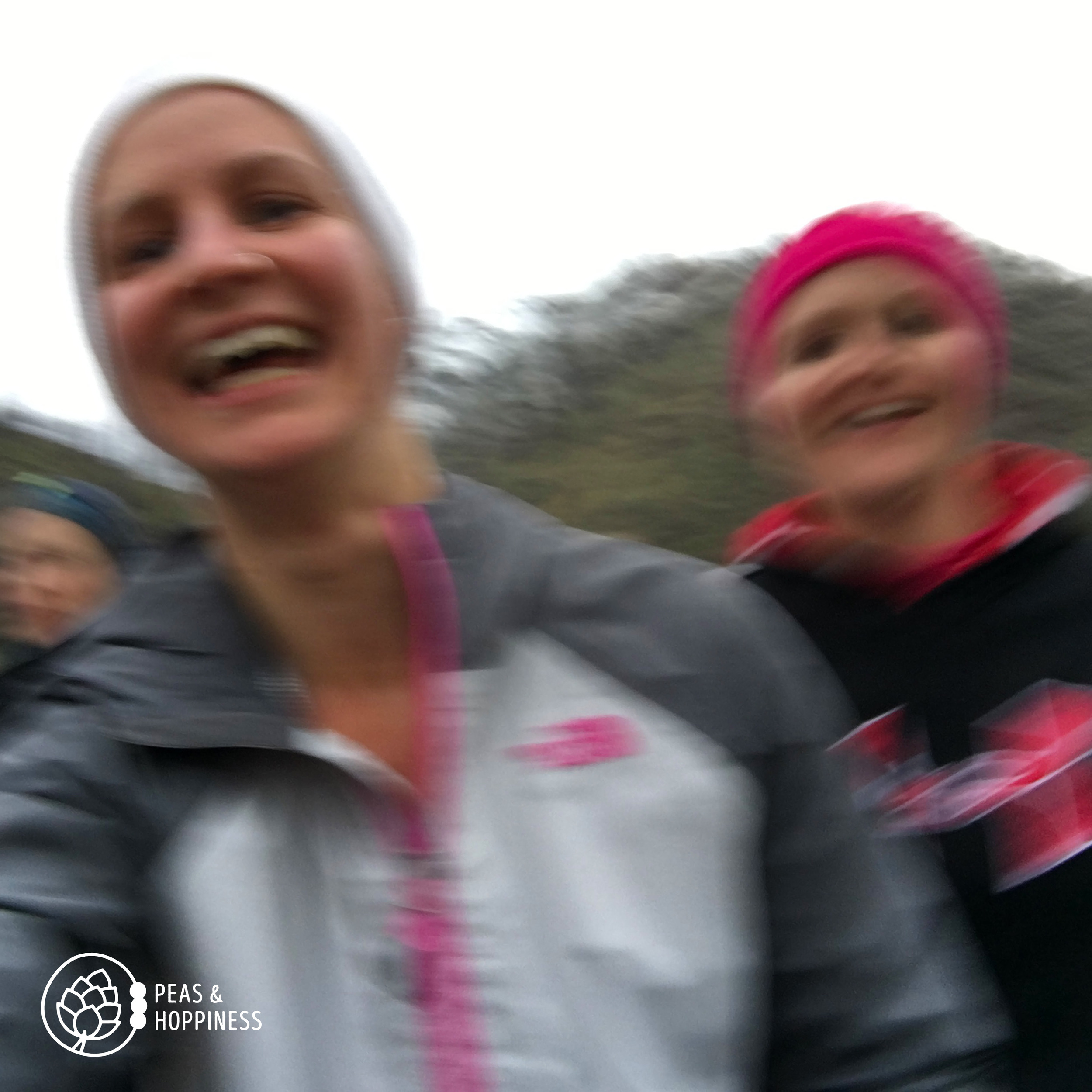 Selfies while running are hard... Me and Mel