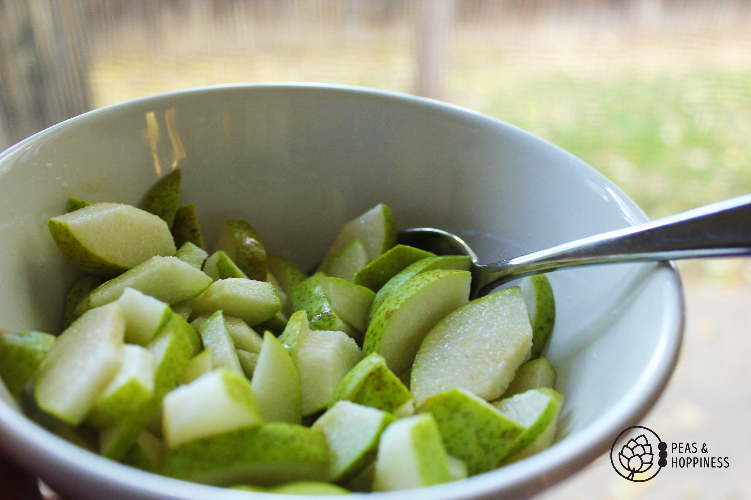 Pears - Super Food Fall Salad from Peas and Hoppiness - www.peasandhoppiness.com