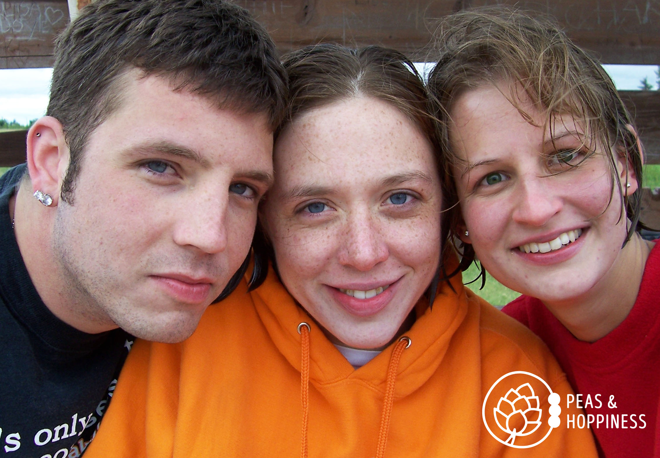 Zach, Brandi, and I spending a rather cold day at the lake on a day off together.