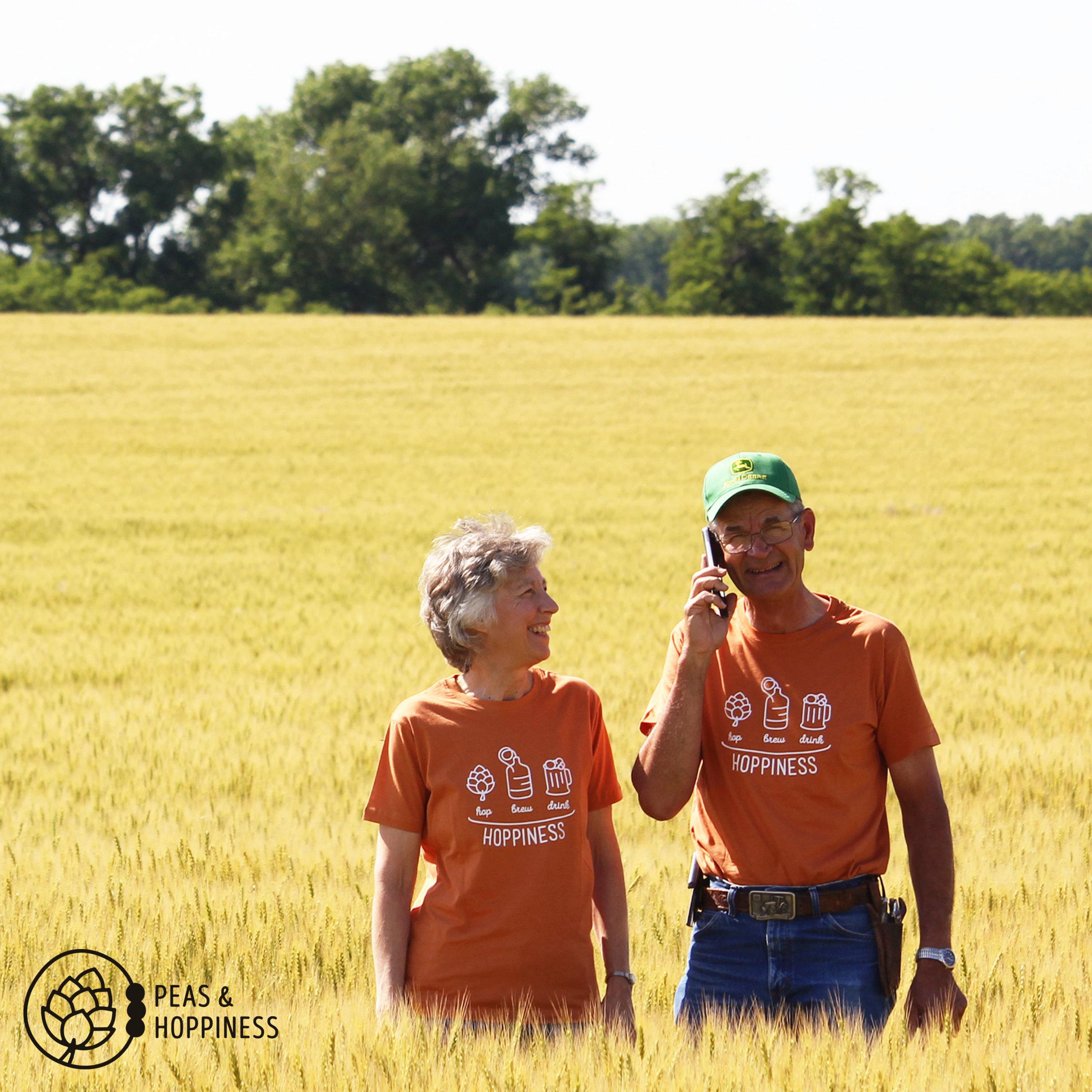 Margaret & Lee Scheufler, co-owners/operators of Scheufler Farms, Inc.
