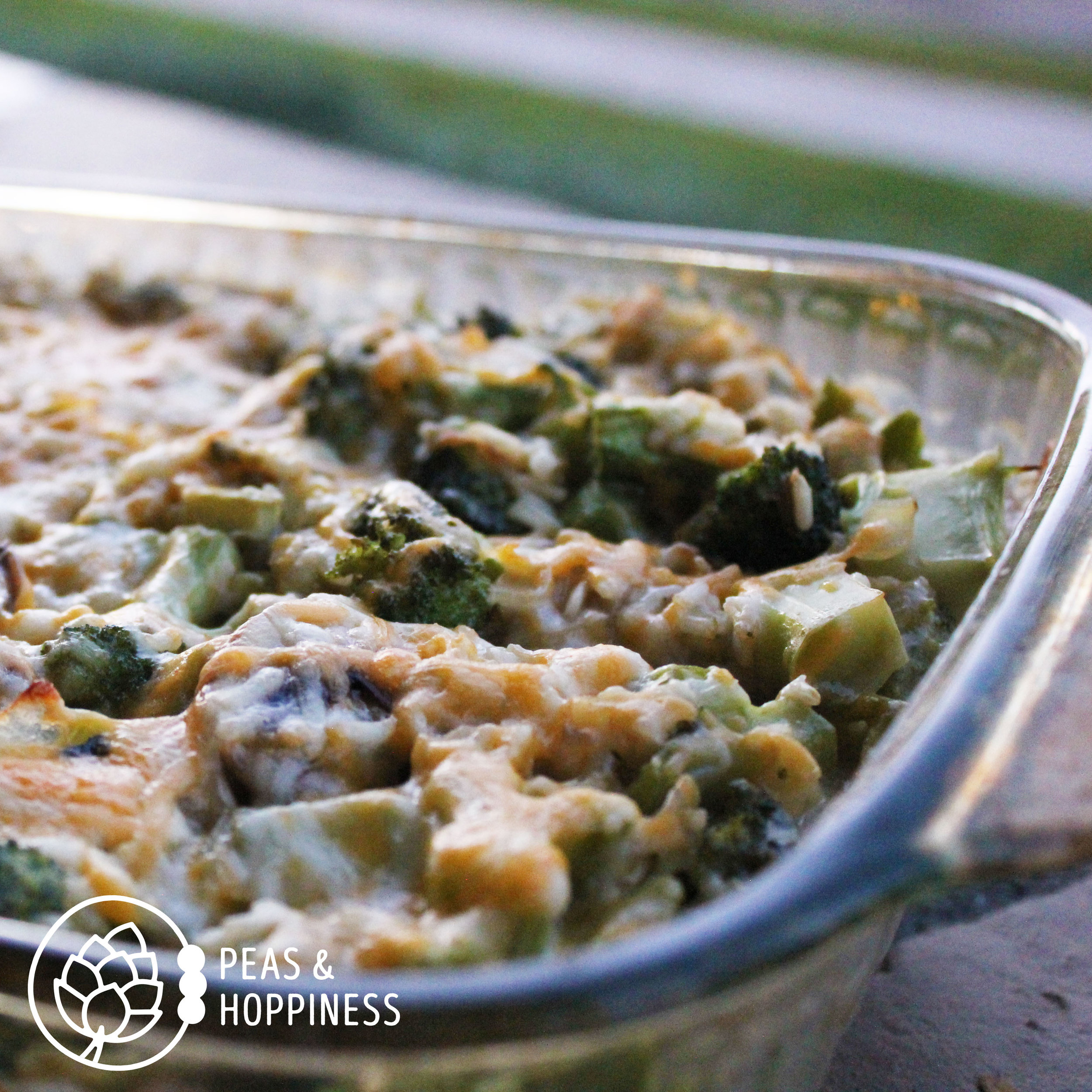 All-Natural Broccoli Rice Casserole
