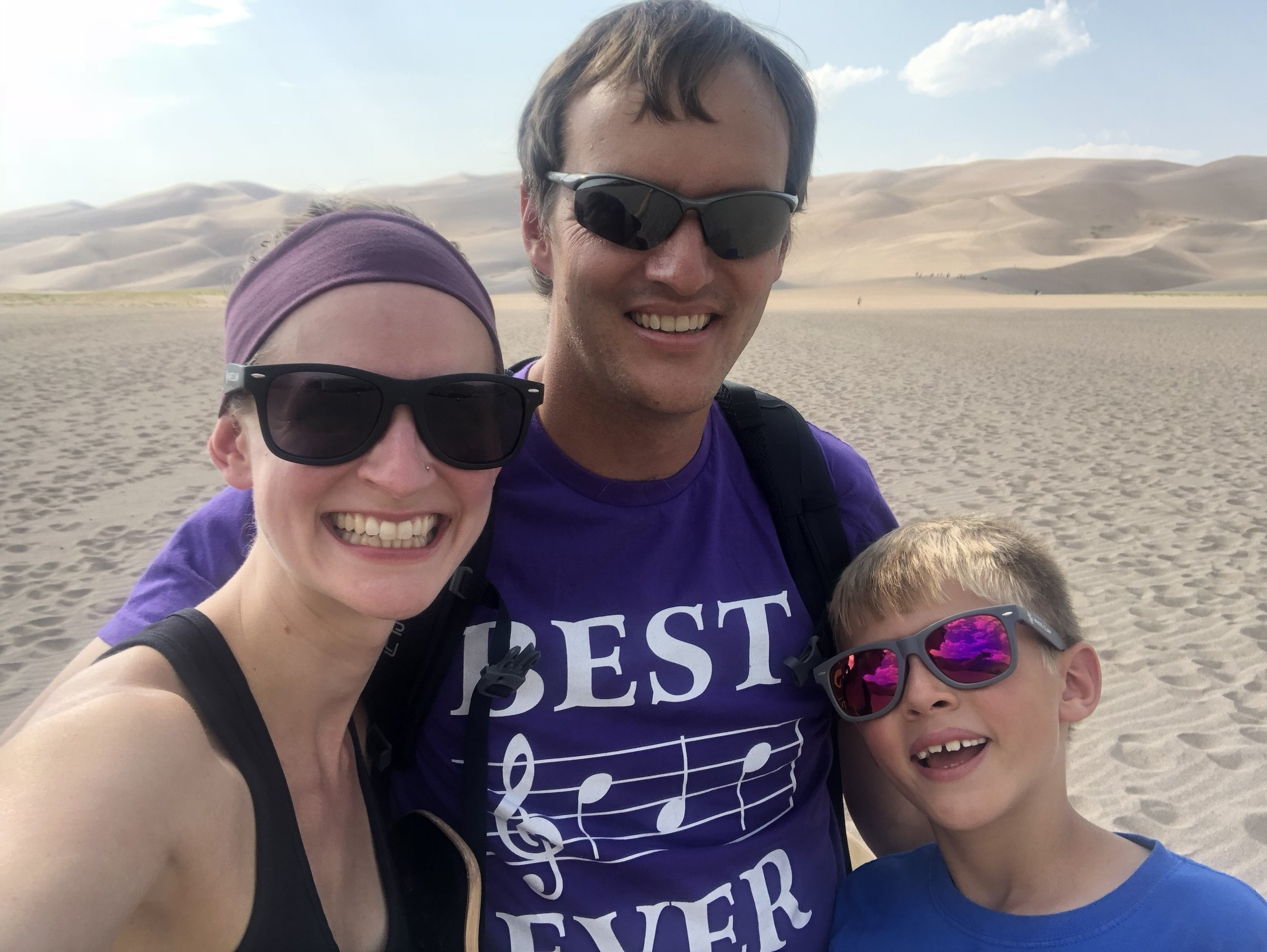 Great Sand Dunes National Park, August 2018
