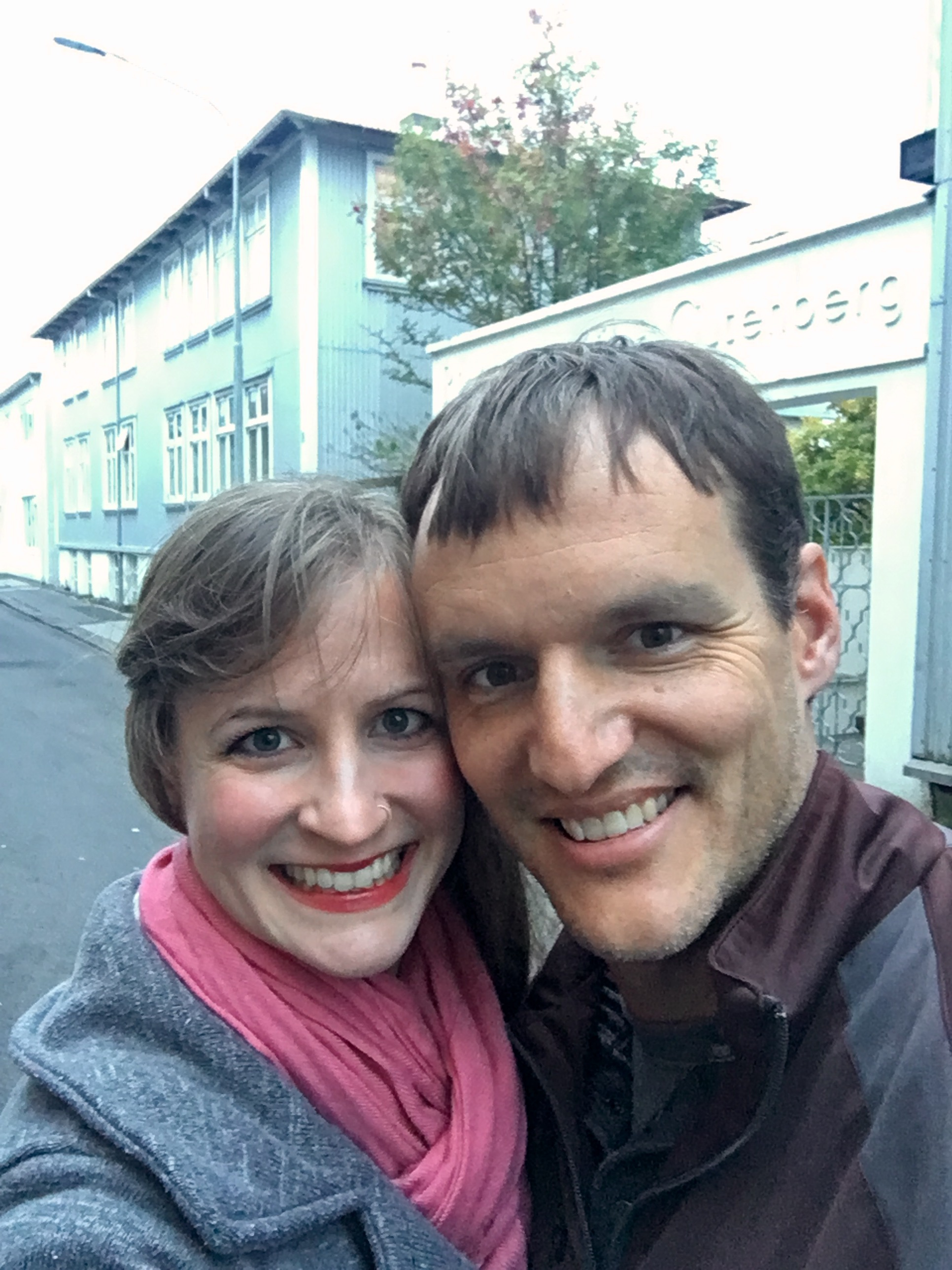 Date night in Reykjavic, Iceland, 2017