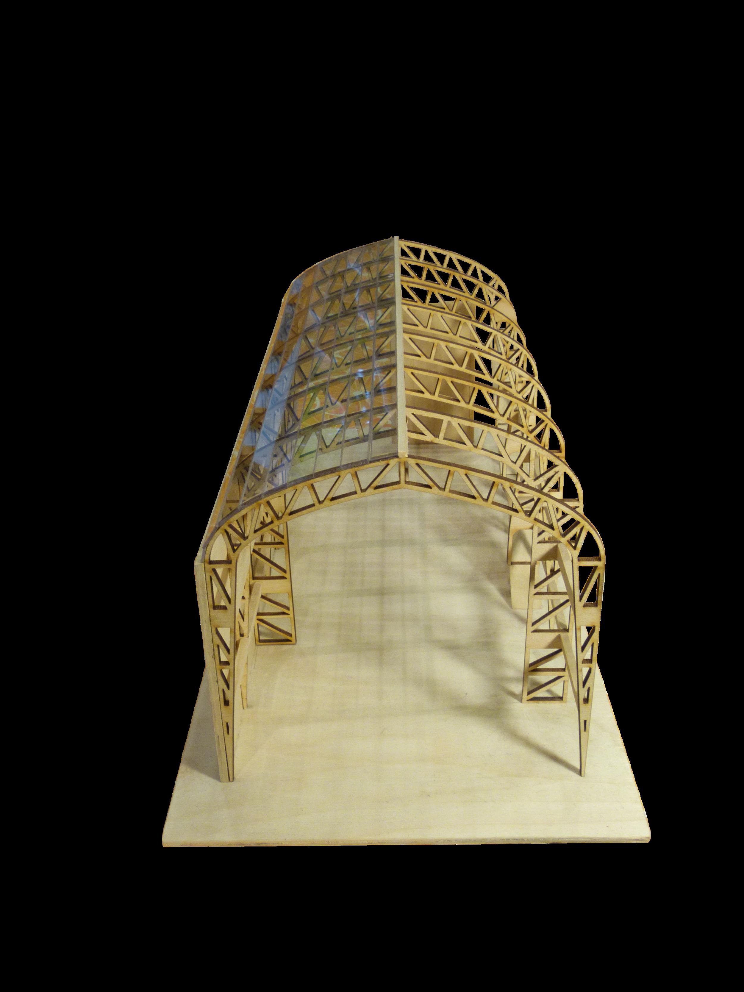Construction Model Front