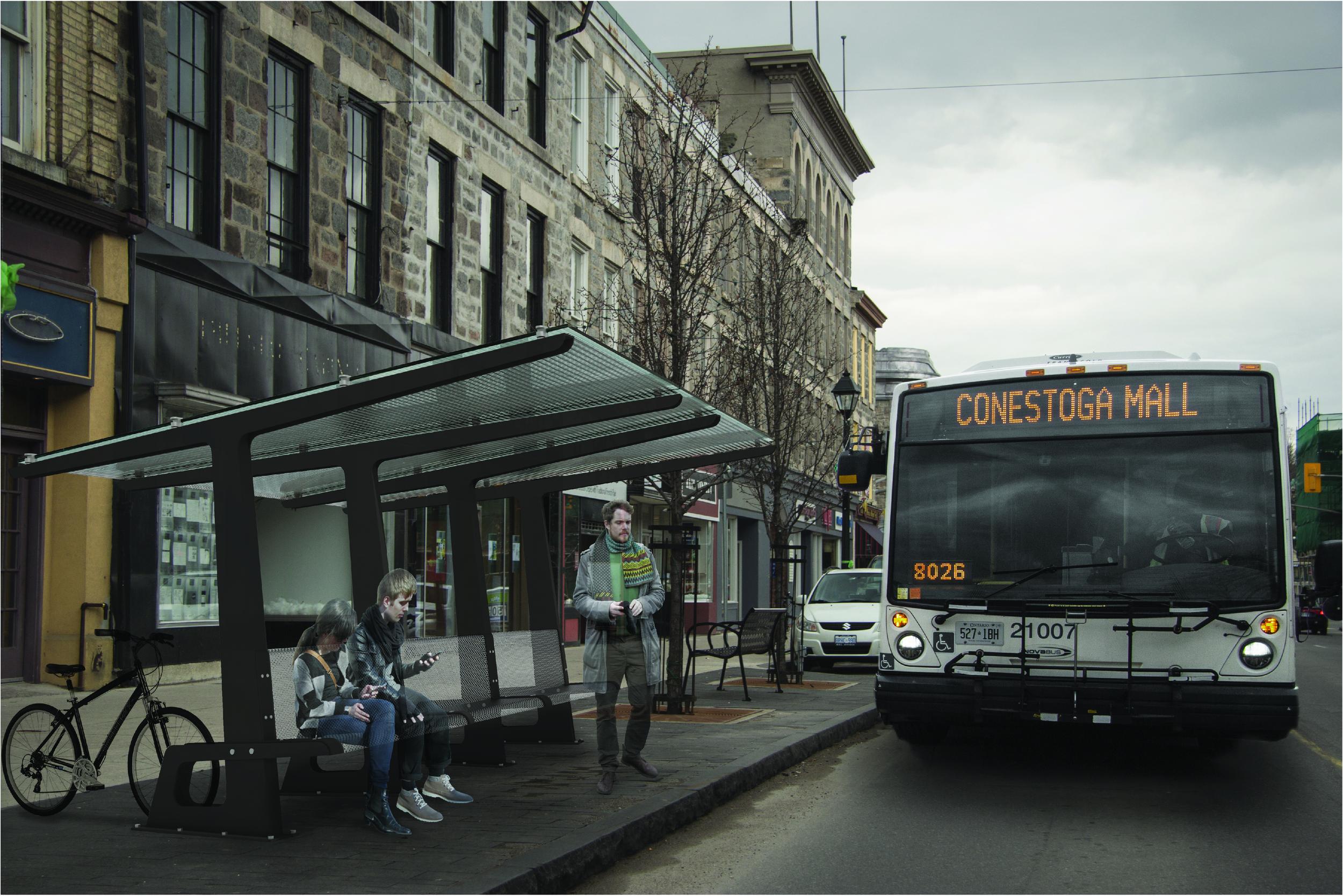 Bus Stop Render