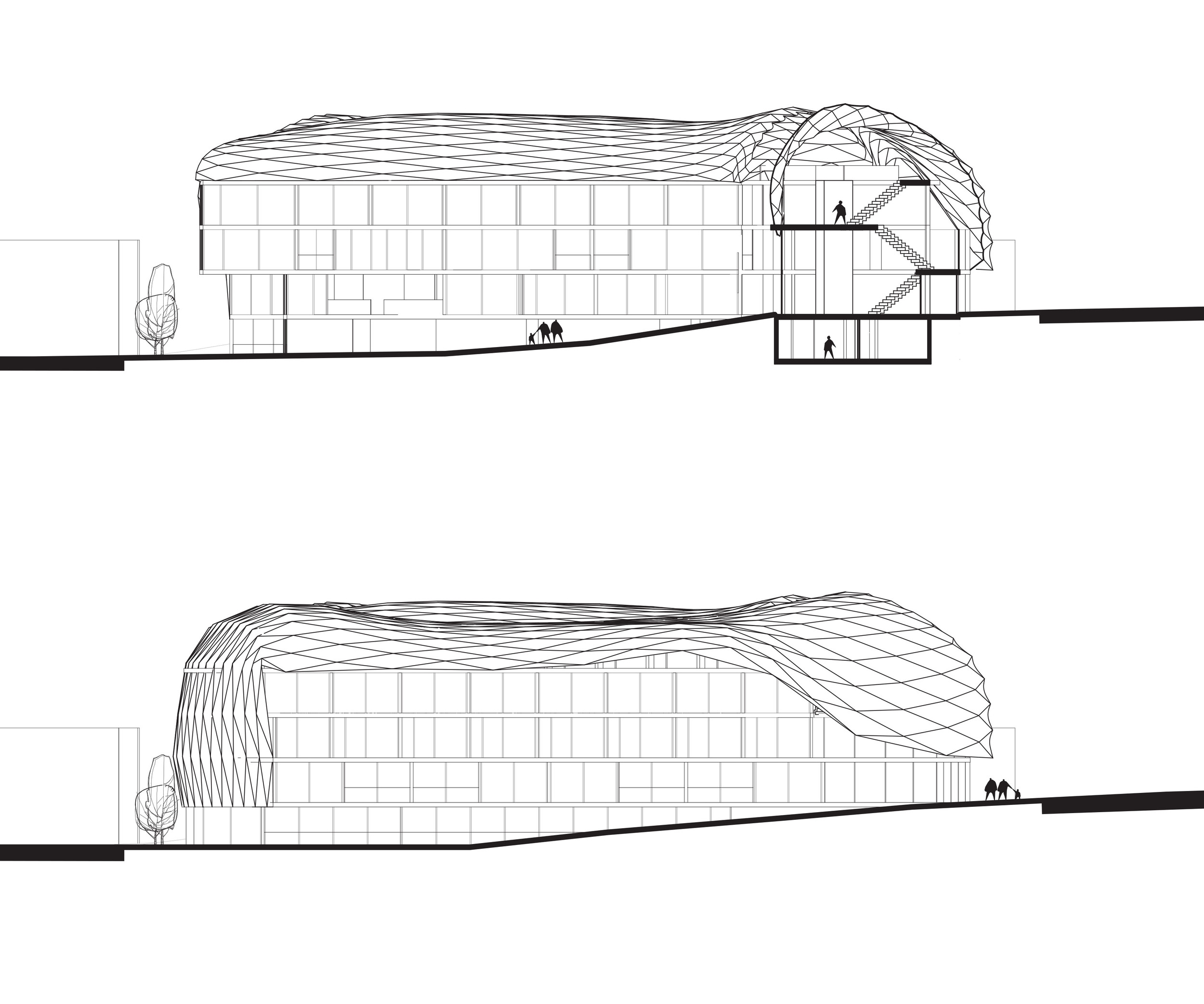 Sections and Elevations Detail