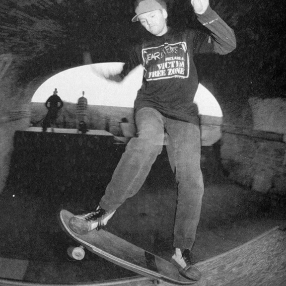 Don B at Dead Rabbit's, Winchester, early 90's; photo: TLB (?)