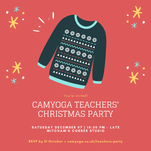 Red Illustrated Sweater Christmas Invitation.png