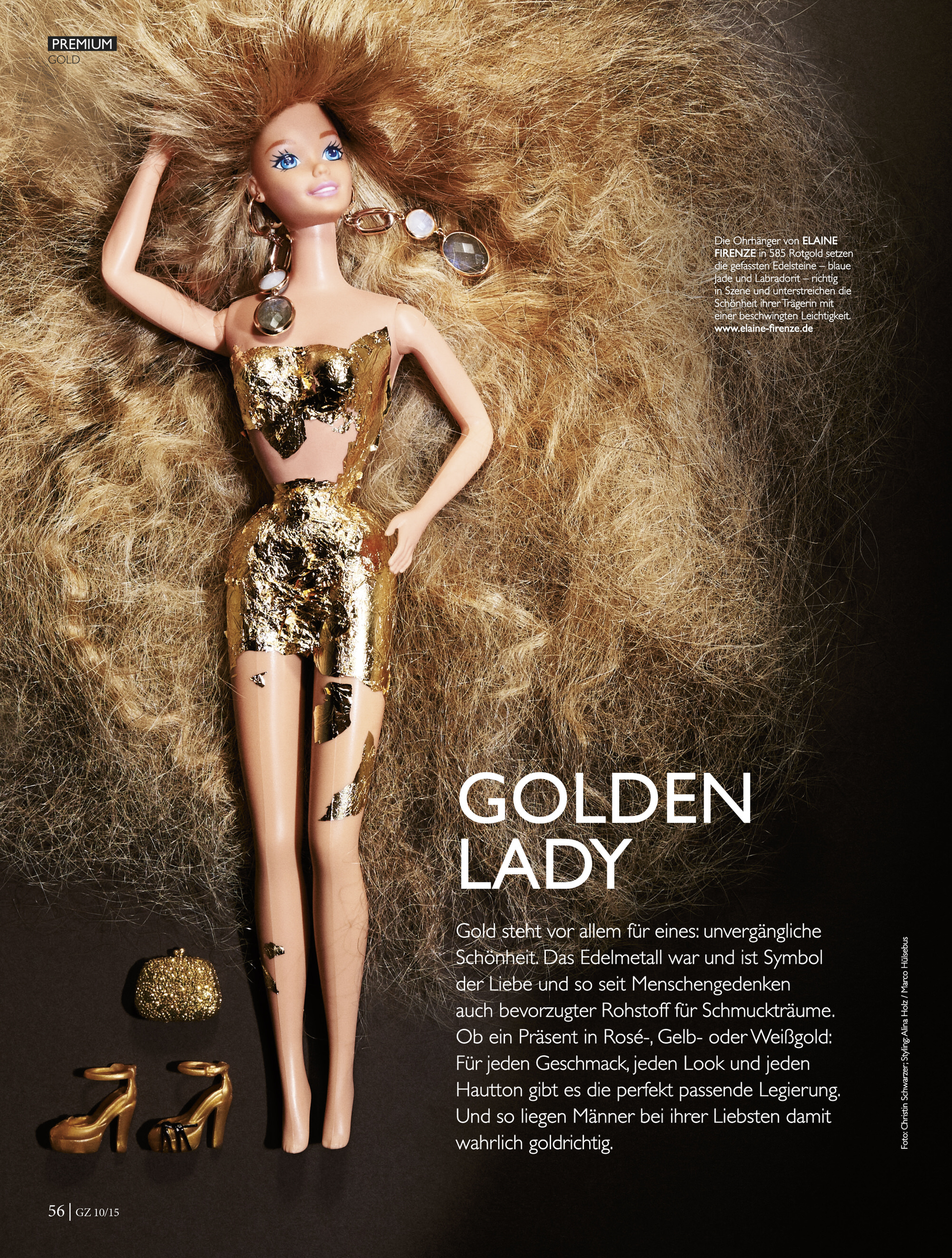 Client: Untitled Verlag l GZ Goldschmiedezeitung  Styling: Alina Holz @Kult