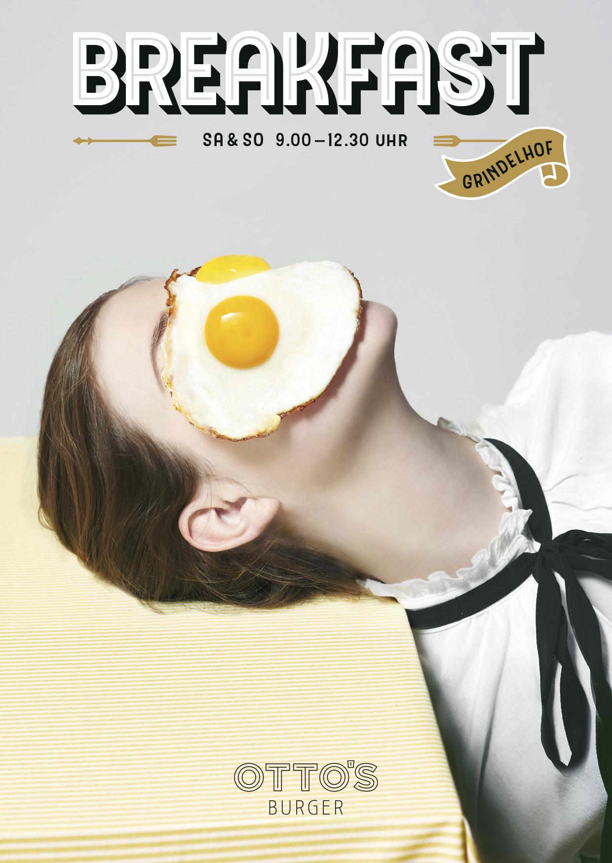 Otto's Burger Breakfast campaign