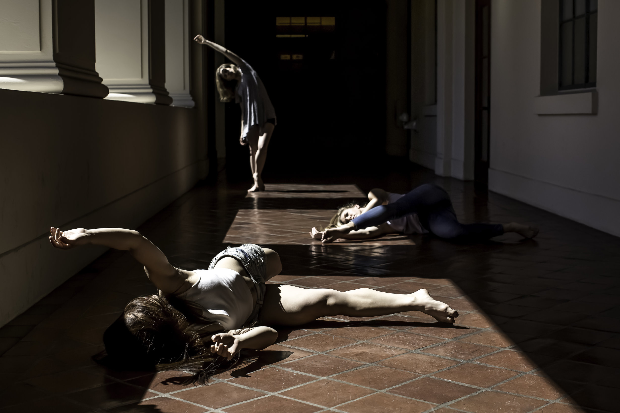 Dancers: Carisa Carroll, Kozue Kasahara and Elise Matthews from  Palm Dance Collective .