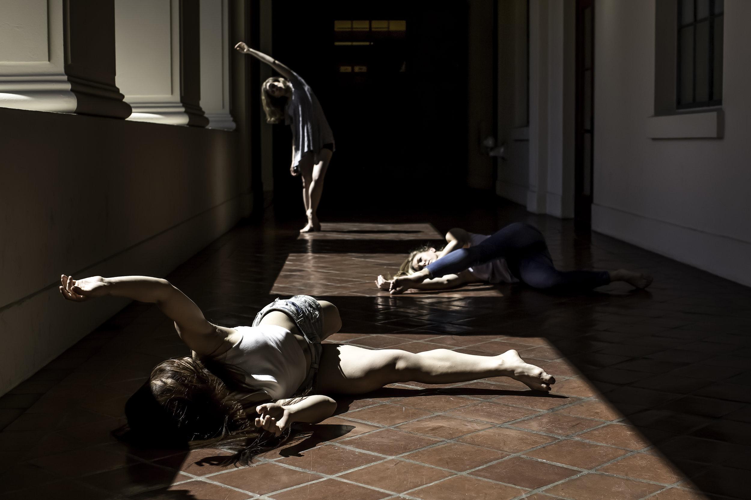 Dancers: Carisa Carroll, Kozue Kasahara and Elise Matthews from  Palm Dance Collective .