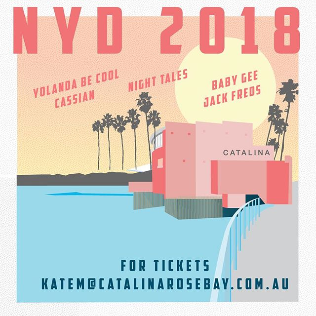 We're officially counting down the days! With only a handful of tickets left make sure you email katem@catalinarosebay.com.au to secure your ticket to the party of the year!! $450 all inclusive.