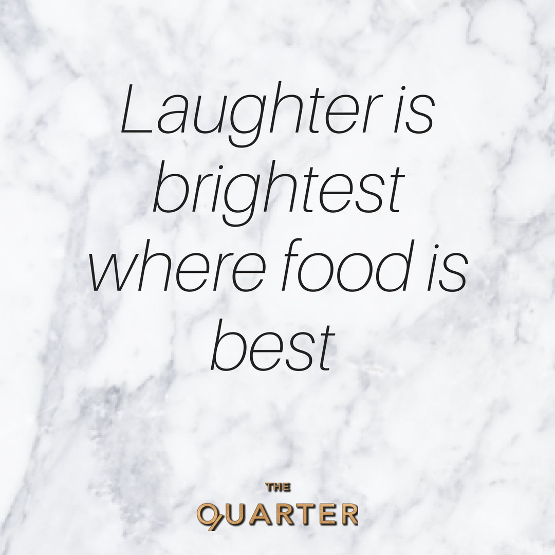 All you need is good friends, great food and awesome cofee. Luckily we bring that all together everyday @thequarterondegraves.png