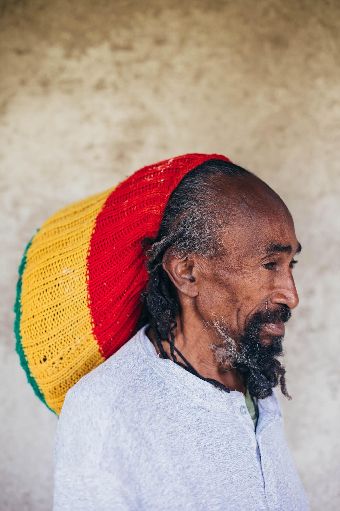 Rastafarian in Shashemane, Ethiopia.