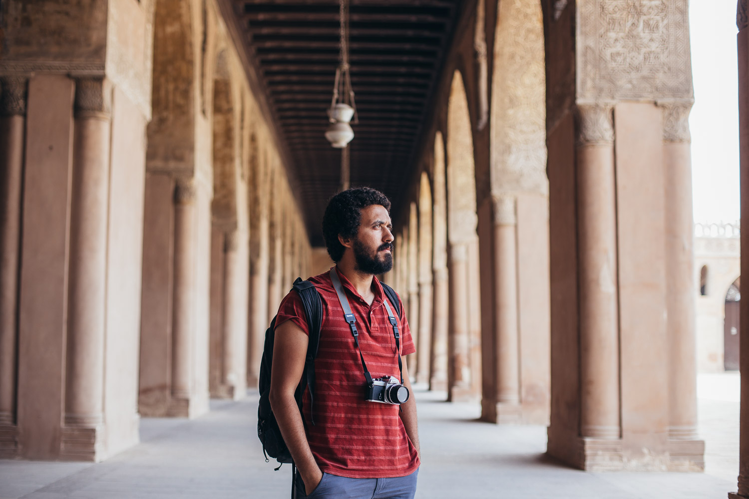 Mostafa Bassim was kind enough to show us around. He is a great photographer and super cool guy!