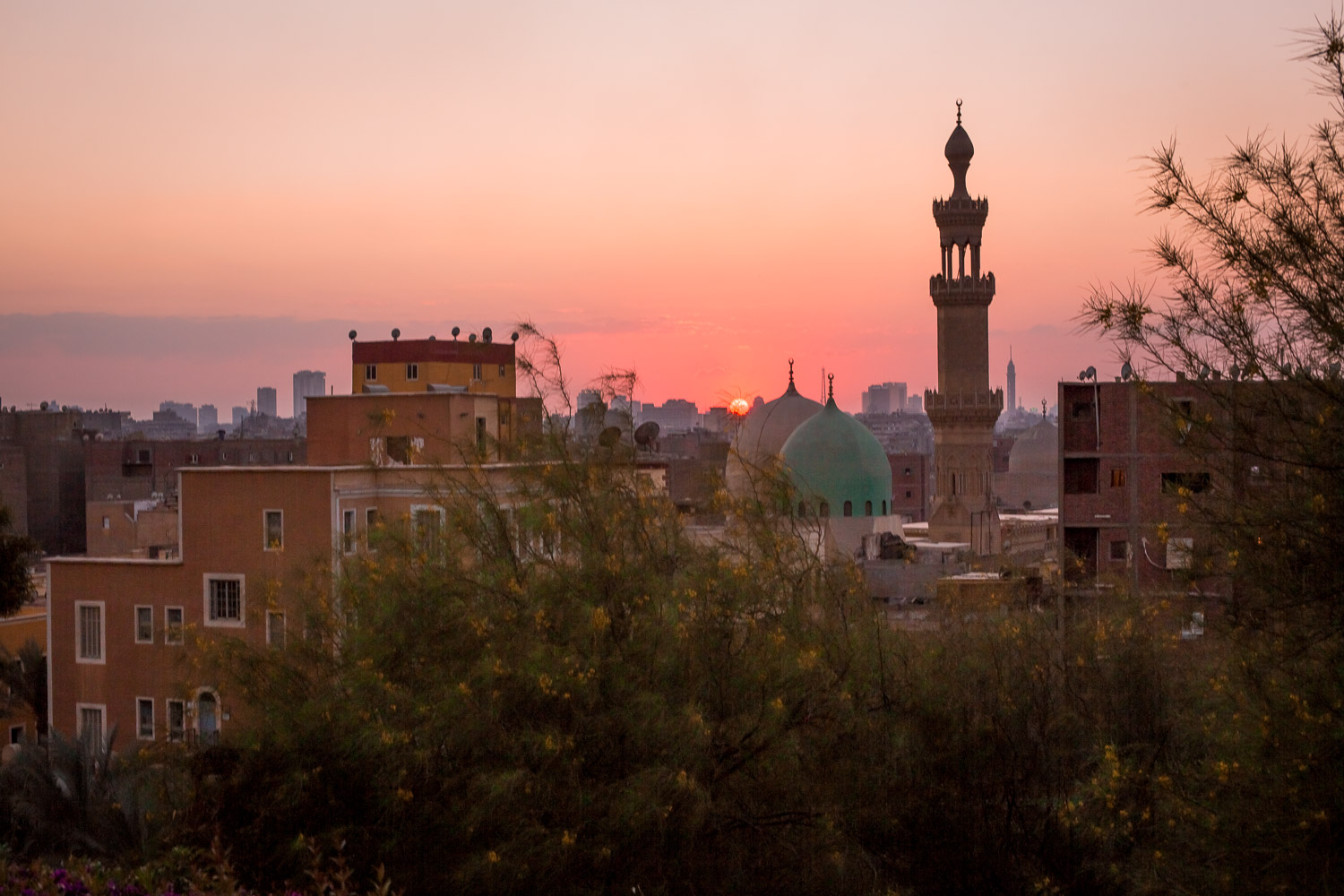 Shot from Al Azhar Park.