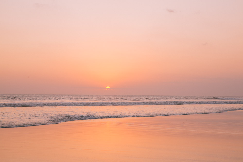 More sunset views from Seminyak.