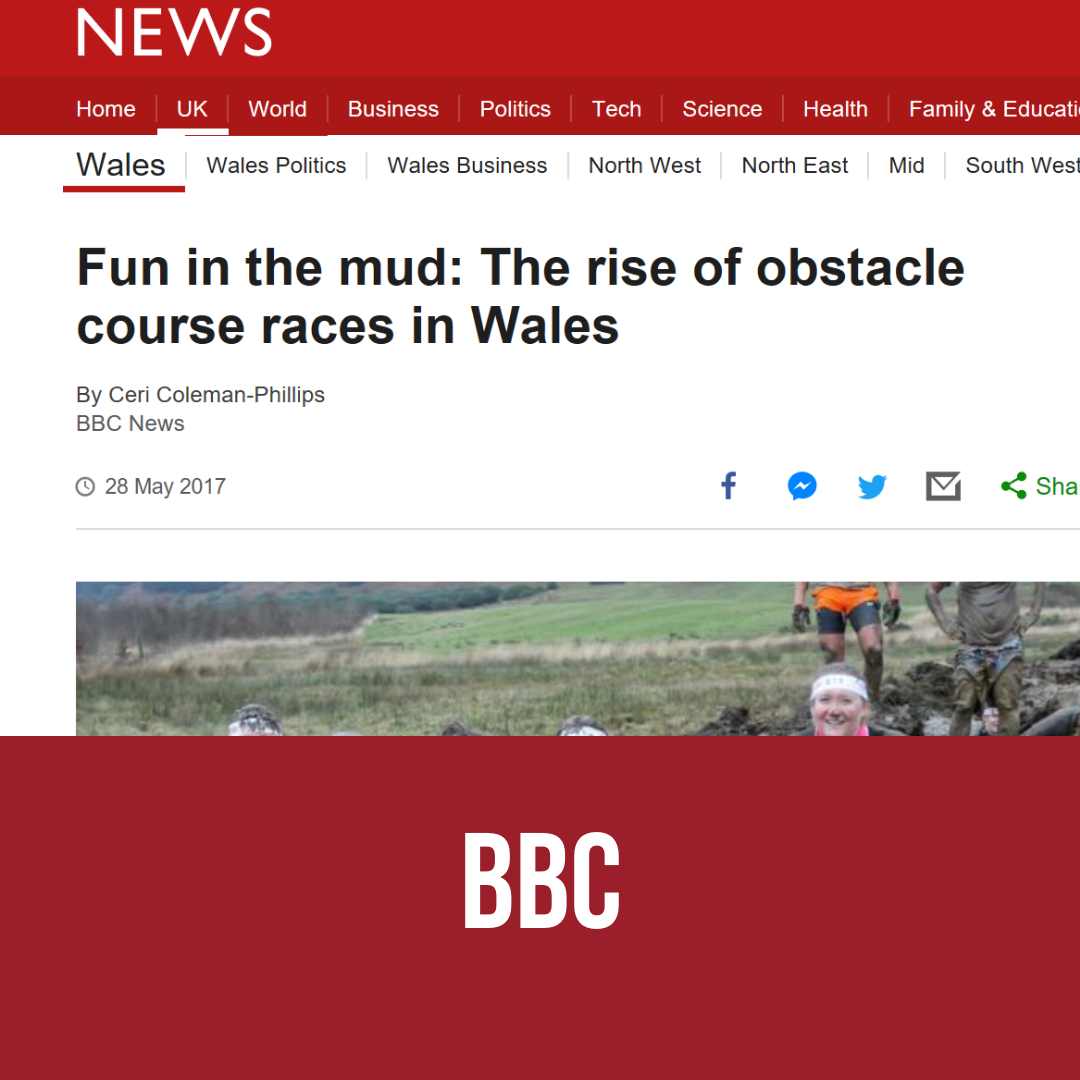 Fun in the mud: The rise of obstacle races in Wales