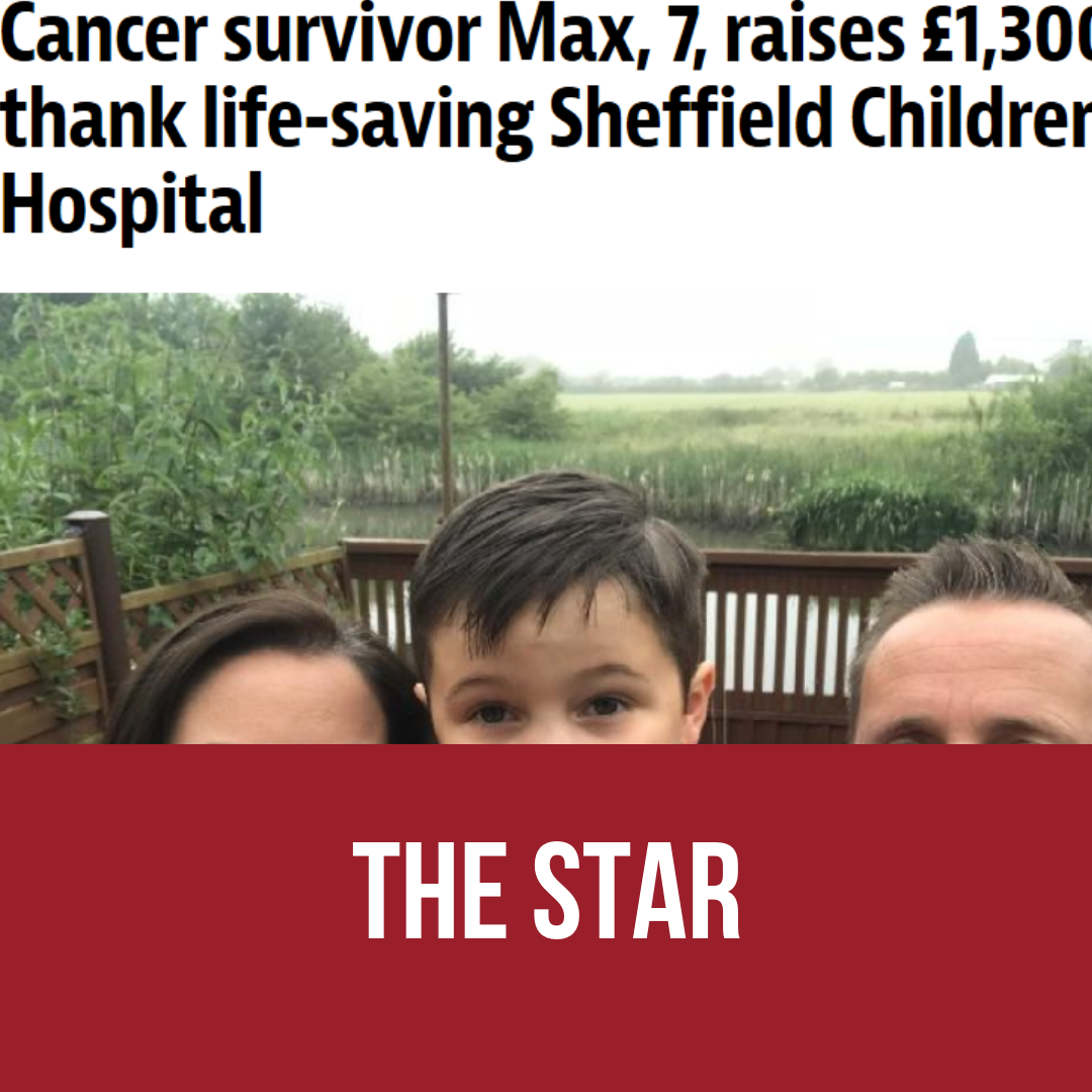 Cancer survivor Max 7.
