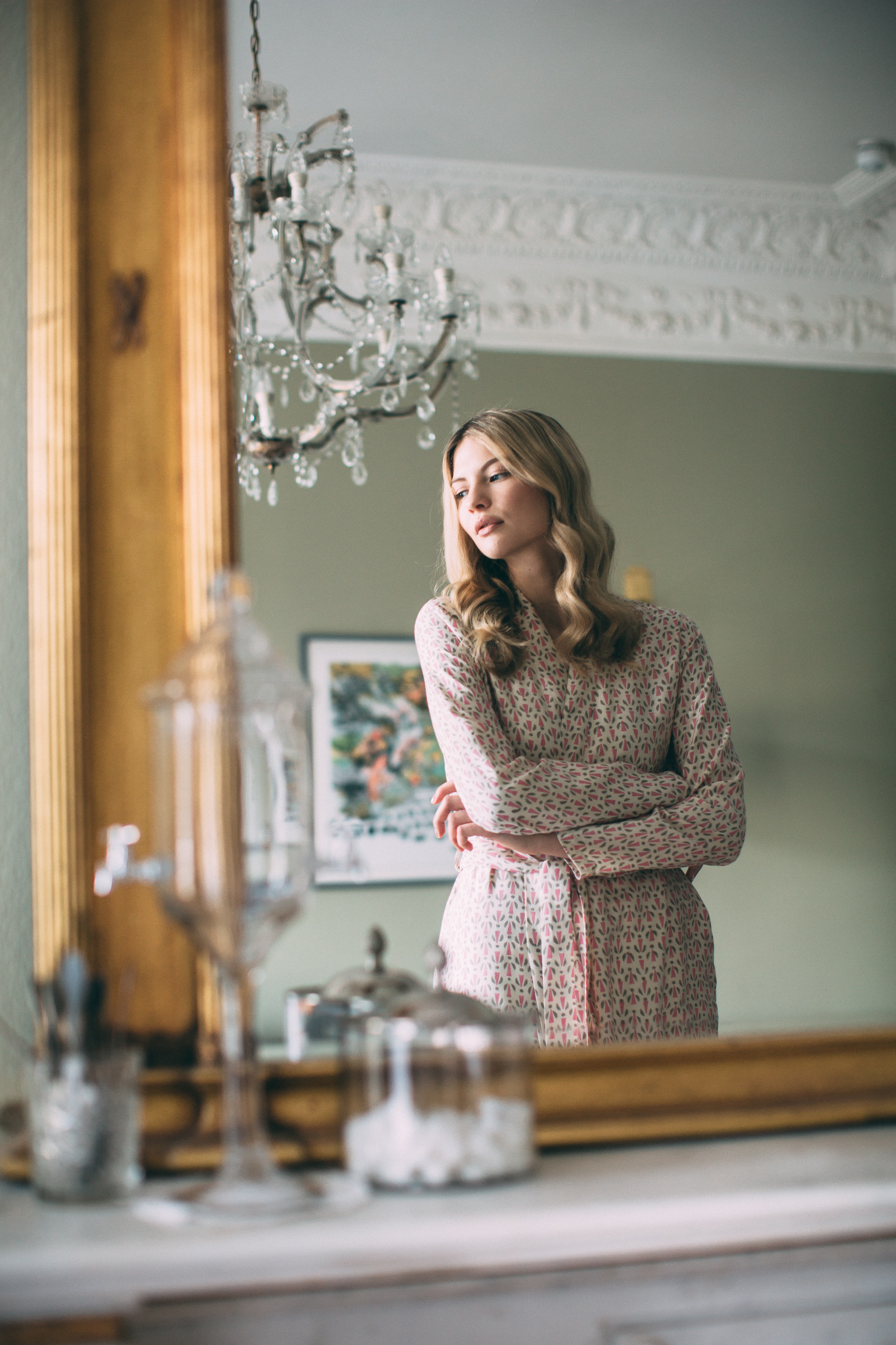 Mulberry pink:grey silk robe.jpg