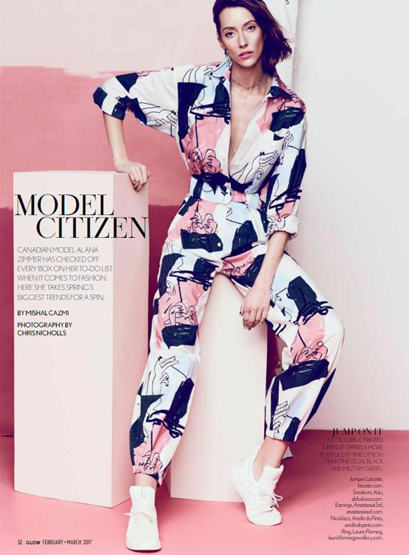 Glow Magazine - Anastassia Sel Jewelry