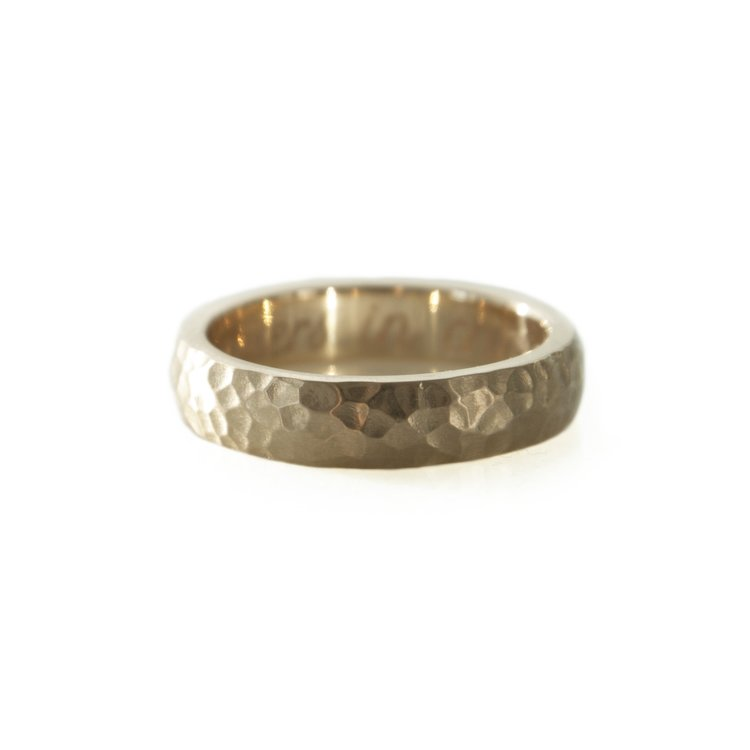 1+Hammered+Gold+Wedding+Band+-+Faceted+Wedding+Band+-+Male+Wedding+Band.jpg