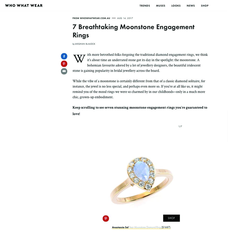 Who What Wear - Anastassia Sel Jewelry