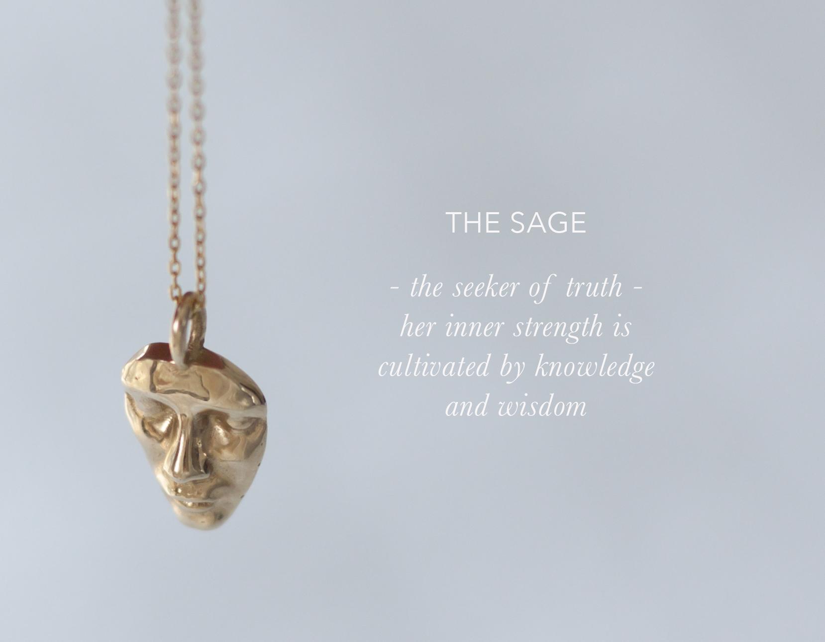 Anastassia Sel Jewelry Lookbook - Gold Charm