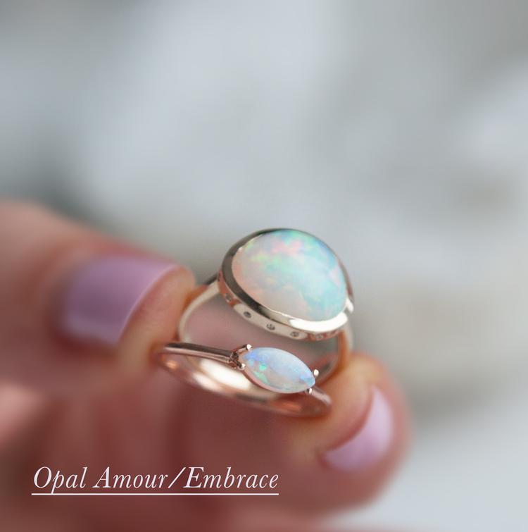 Anastassia Sel Jewelry - Opal Everyday Ring
