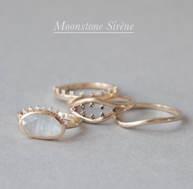 Anastassia Sel Jewelry Lookbook - Moonstone Ring