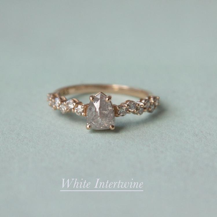 Anastassia Sel Jewelry Lookbook - Rose Cut Diamond