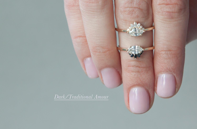 Anastassia Sel Jewelry Lookbook - Diamond Crown Ring