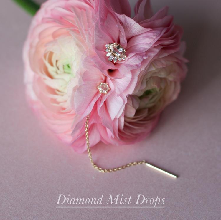 Anastassia Sel Jewelry Lookbook - Diamond Threader