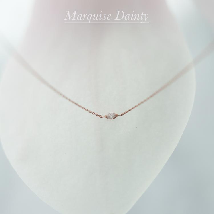 Anastassia Sel Jewelry Lookbook - Tiny Diamond Necklace