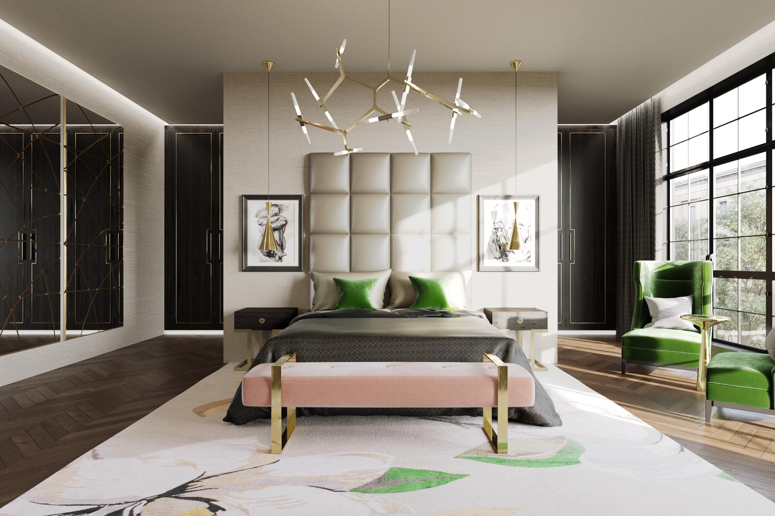 Jo Hamilton Interiors - Mayfair bedroom light