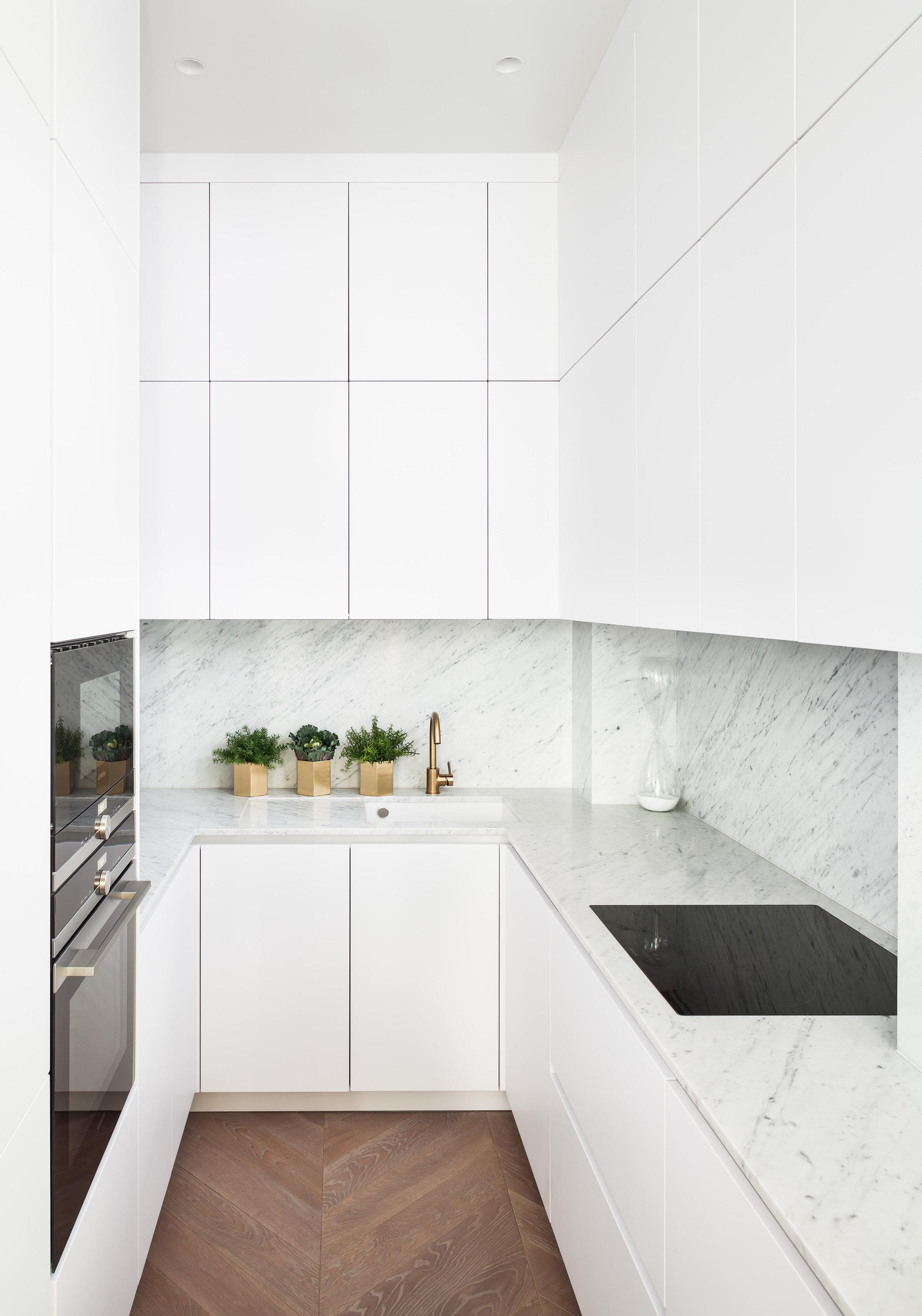 Jo Hamilton Interiors - Observatory Gardens, Kensington, kitchen
