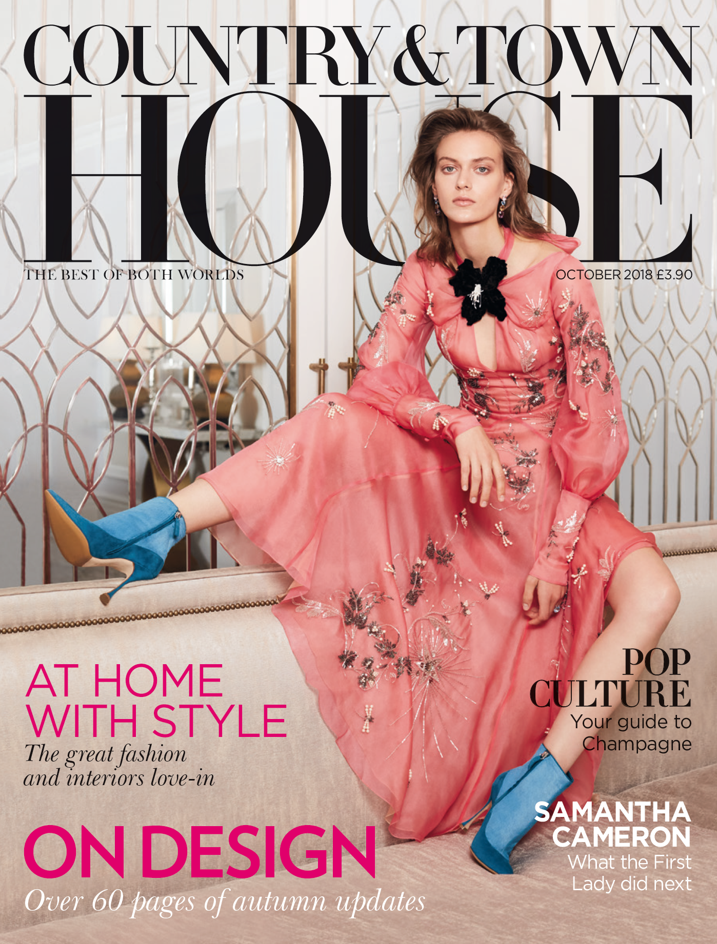 Country and Town House featuring interior designer Jo Hamilton October 2018