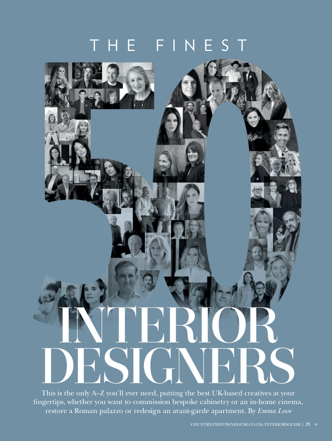 High end interior designer Jo Hamilton listed among the UK's finest a