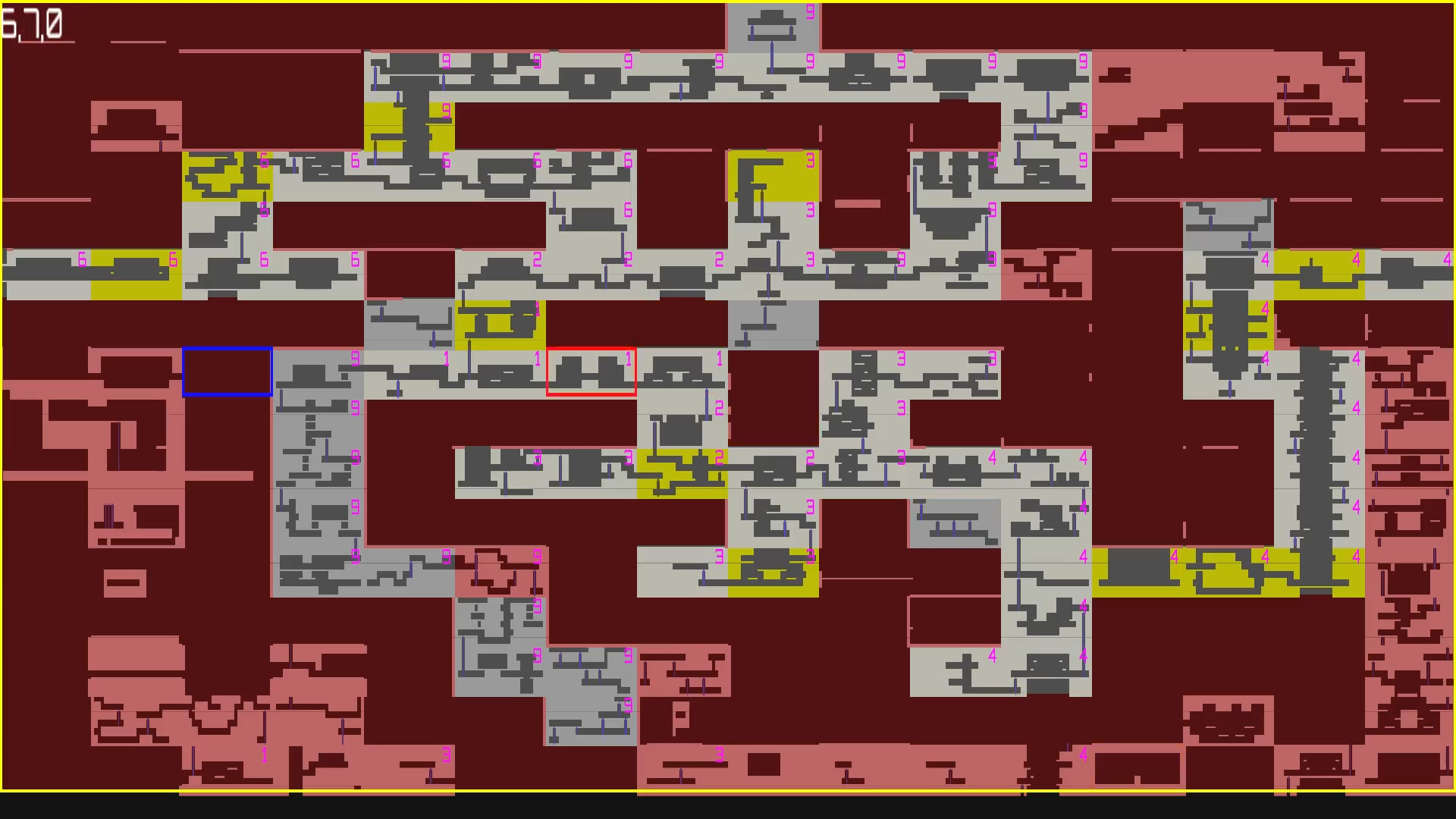 Developer map screenshot