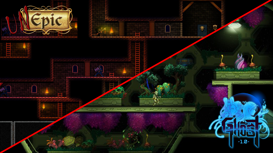 A comparison between Unepic and Ghost 1.0. Both have a similar point of view.