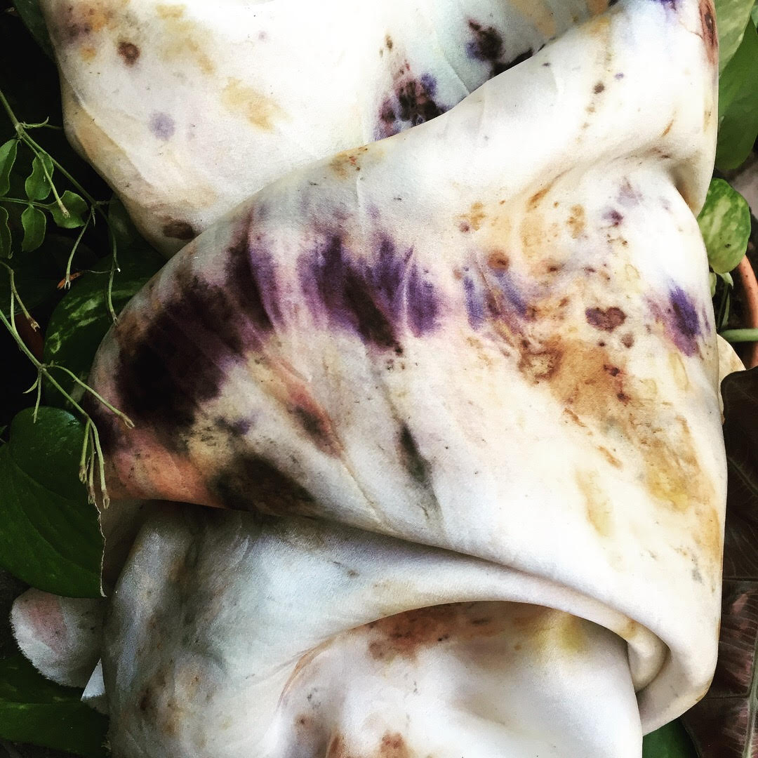 Botanical Bundle Dye Workshop - This Sunday, December 16th, join Jacqui of Earthly at the studio 1-3:30pm for a special textile workshop that will teach you how to make beautiful pigments with natural elements like flowers. Each ticket includes all materials and a silk scarf that you will dye during class and take home day of. Book now for you and a friend through Glofox or Eventbrite.