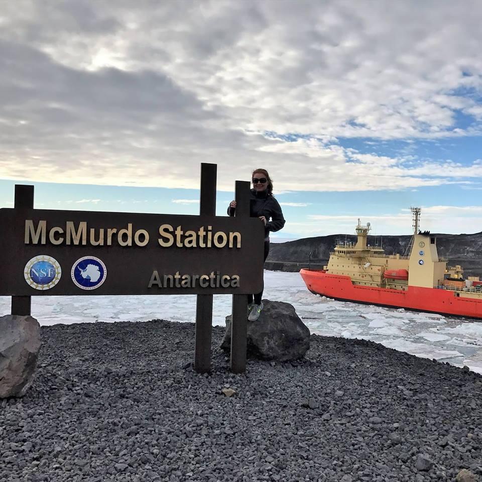At McMurdo with the RVIB  Nathaniel B. Palmer