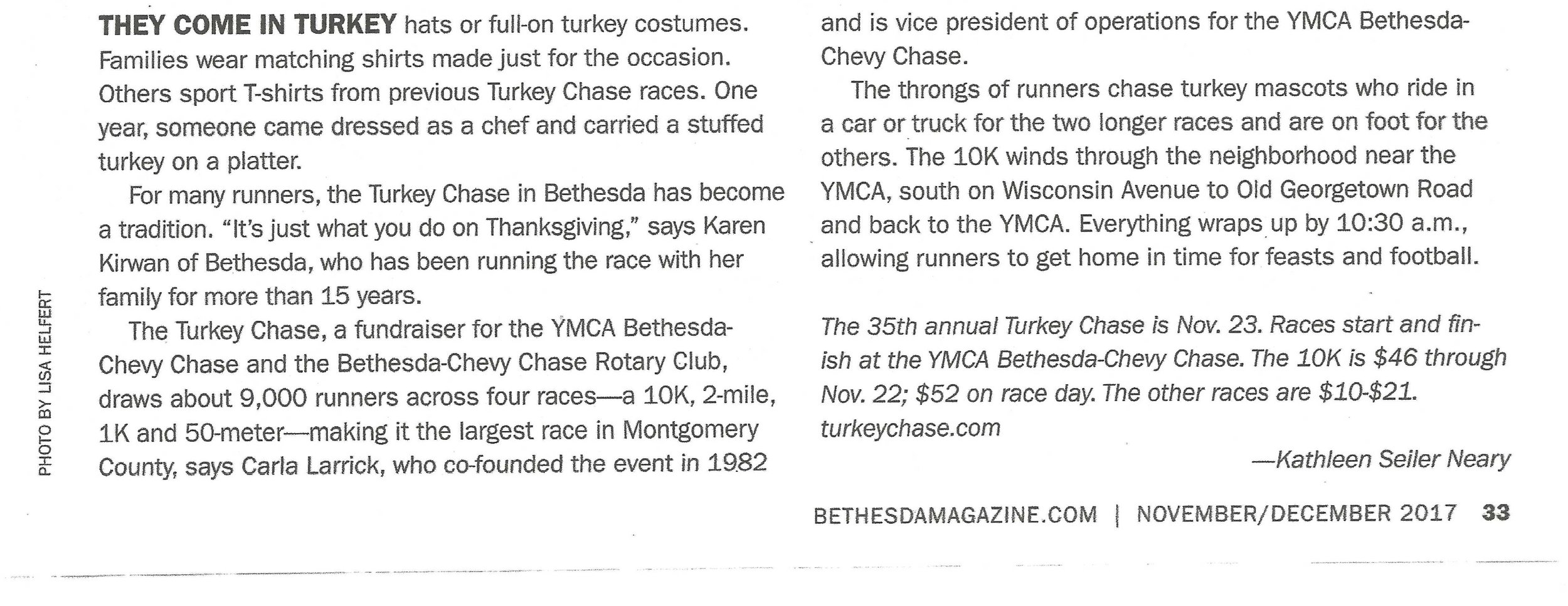 Turkey Chase article (text only) in Bethesda Magazine Oct-Nov 2017.jpg